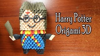 Harry Potter Origami 3D TUTORIAL