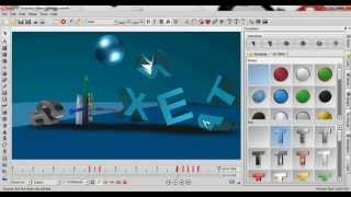 how to make 3D intro fast with aurora 3D animation