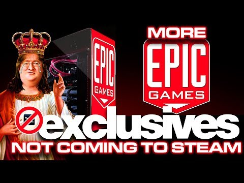 Console-like Exclusivity on Epic Games Store | Big Games NOT coming to Steam