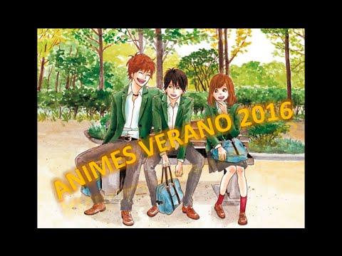Animes verano 2016
