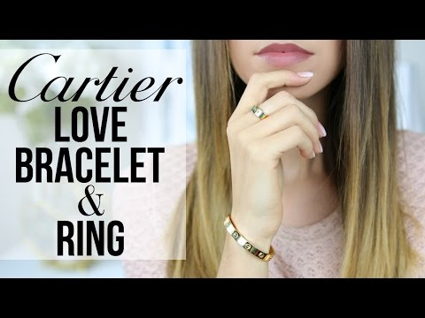 CARTIER LOVE BRACELET AND RING: Story, Review, Wear & Tear