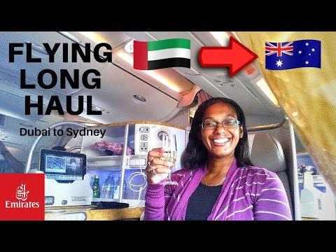 Dubai to Sydney Business class | Emirates a380