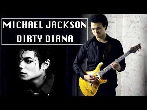 Michael Jackson - DIRTY DIANA - Guitar Cover By Adam Lee