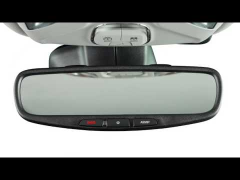 Automatic Dimming Mirrors-Rear view mirror dimming, reduce blinding light 2017 Jeep Compass MP