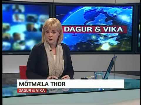 Faroese TV: Sahrawi refugees protest against oil industry