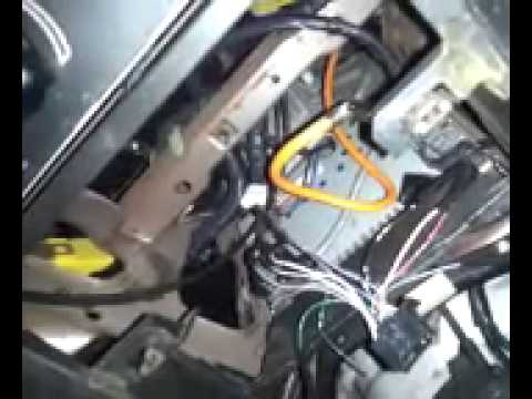 hqdefault how to install a radio in a 1996 2000 mustang youtube 1997 ford mustang radio wiring diagram at fashall.co