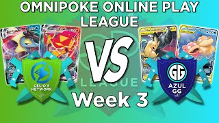 EZ Game? OPOP Week 3 Vs. Azul GG! | Pokemon TCG Online