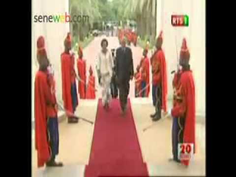 Diplomatie Présentation de Lettres De Créance de Nouveaux Ambassadeurs à Dakar