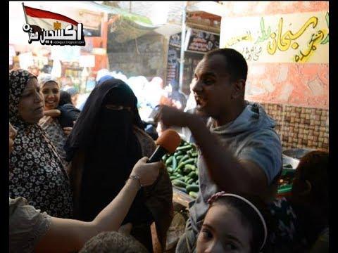 أشجع شاب فى مصر .... يقتحم الكاميرا  ويتحدى السيسى بعد 6 شهور عملت ايه يا كداب