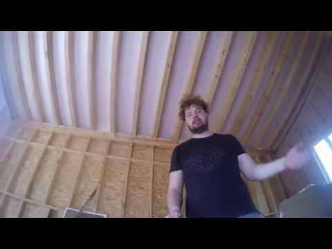 видео: День 29. Мысли по поводу каркасного дома. Строим каркасный дом.