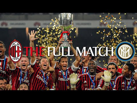 Full Match | AC Milan 2-1 Inter | Italian Supercoppa 2011