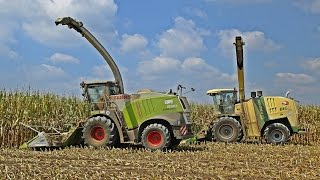 Krone Big X 1100 & Claas Jaguar 980