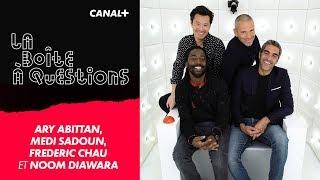 La Boîte à Questions d'Ary Abittan, Medi Sadoun, Frédéric Chau et Noom Diawara – 28/01/2019