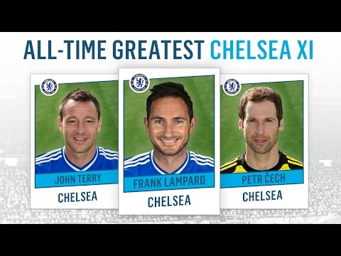 All-Time Greatest Chelsea XI | Zola, Lampard, Drogba!