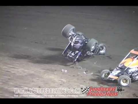 Ventura Raceway 11-19-11 - USAC vs VRA Midgets