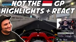 Not The Monaco GP Highlights + Reaction | Dave Reagiert auf NotTheMonacoGP Szenen