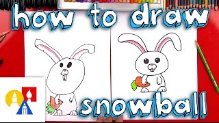 How To Draw Snowball From The Secret Life Of Pets