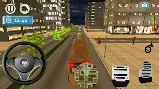 Passenger Bus Simulator | Street Vehicle and Bus for Kids Game Play