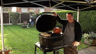 How To Cook Your Xmas Roast Turkey In A BBQ by Johnny P