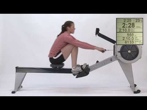Rowing with Greater Intensity | Concept2