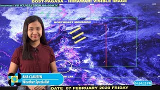 Public Weather Forecast Issued at 4:00 PM February 7, 2020