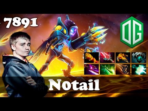 N0tail Arc Warden 8 slotted | 7891 MMR...