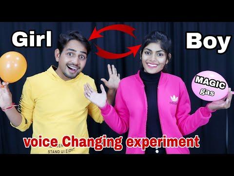 जादूई गैस जो आपकी आवाज बदल सकती है - Crazy Voice Changing Gas Experiment