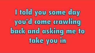 scotty mccreery lauren alaina i told you so w lyrics