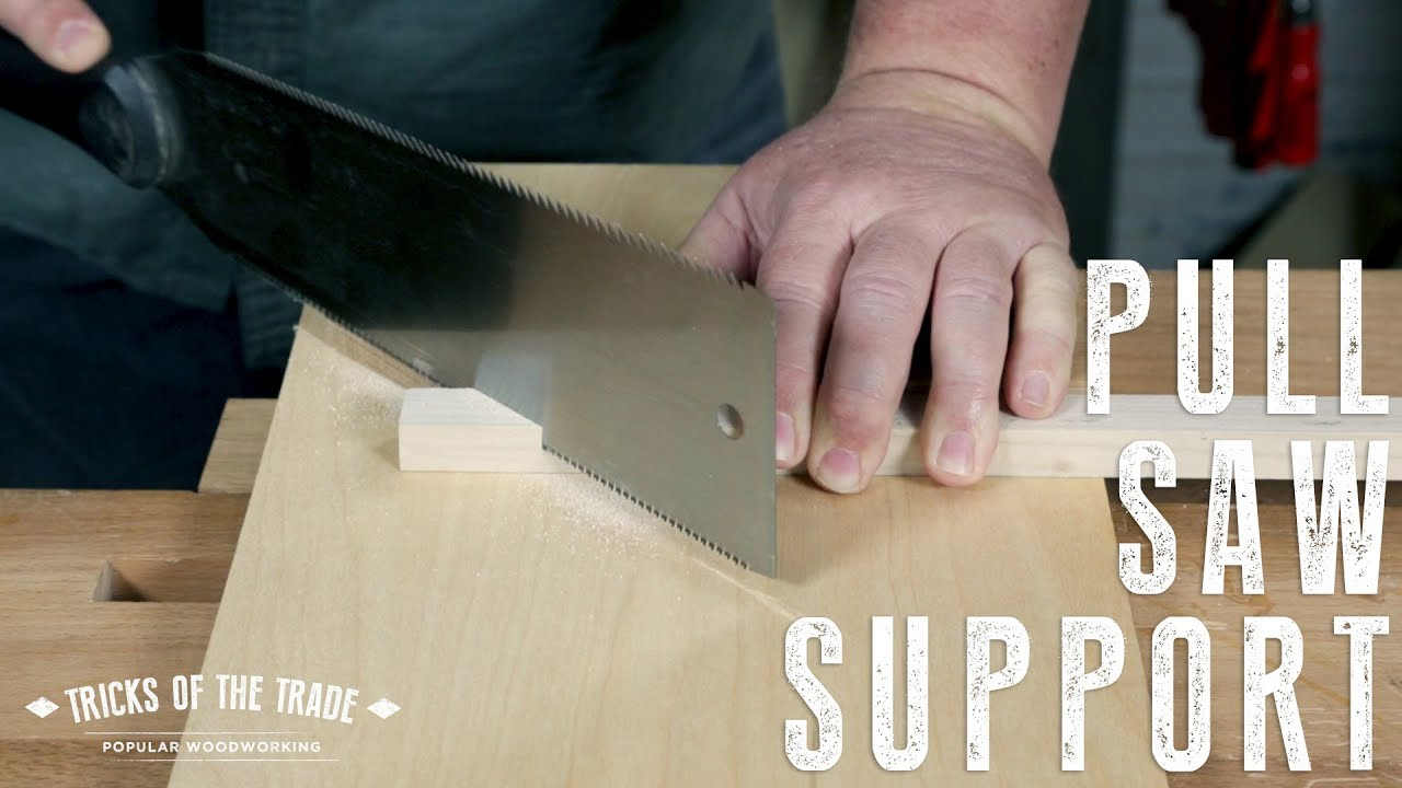 Make A Pull Saw Bench Hook Tricks Of The Trade