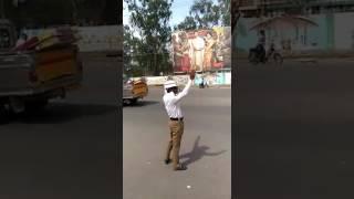 Paripelly satyanarayana,karimnagar traffic police