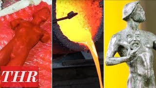 How SAG Awards Statuettes Are Made: Inside The American Fine Arts Foundry | THR