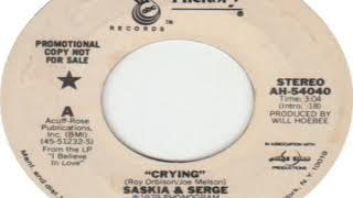 Saskia And Serge Crying 1978