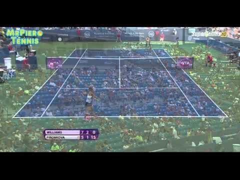 HD Serena Williams vs Tsvetana Pironkova Cincinnati 2015 Highlights