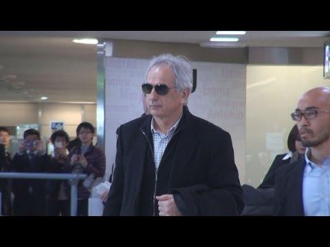 ハリルホジッチ氏が来日 サッカー日本代表新監督