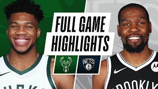 BUCKS at NETS | FULL GAME HIGHLIGHTS | January 18, 2021