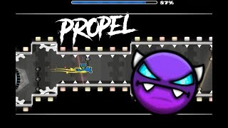 Geometry Dash 2.11 Propel by Hyper314 (Easy Demon)