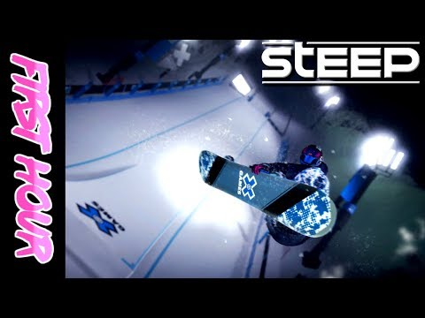 Steep X-Games DLC (PS4)   First Impressions & Review - First Hour