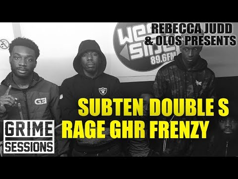 Grime Sessions - Subten, Double S, Frenzy, Rage