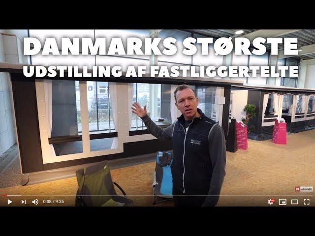 Danmarks største udvalg af fastliggertelte