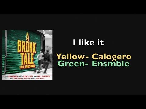 I Like it Lyrics - A Bronx Tale