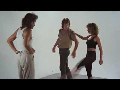 dirty dancing, Jennifer Grey e Patrick Swayze  Teste de palco