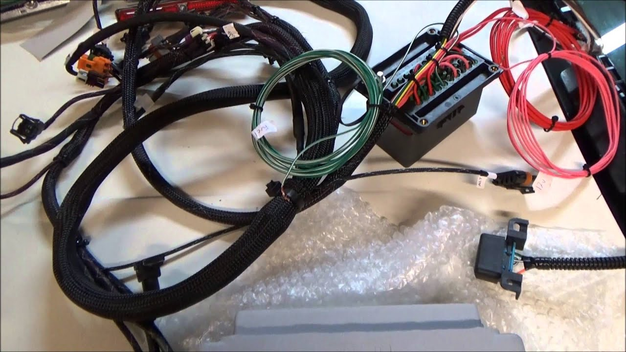 Plug And Play Harness Ecu Combo For Turbo Lsx Swaps Youtube 98 Ls1 Alternator Wiring