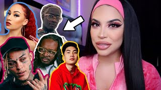 REACTING TO MUSIC VIDEOS I'VE BEEN IN *THIS IS CRAZY*