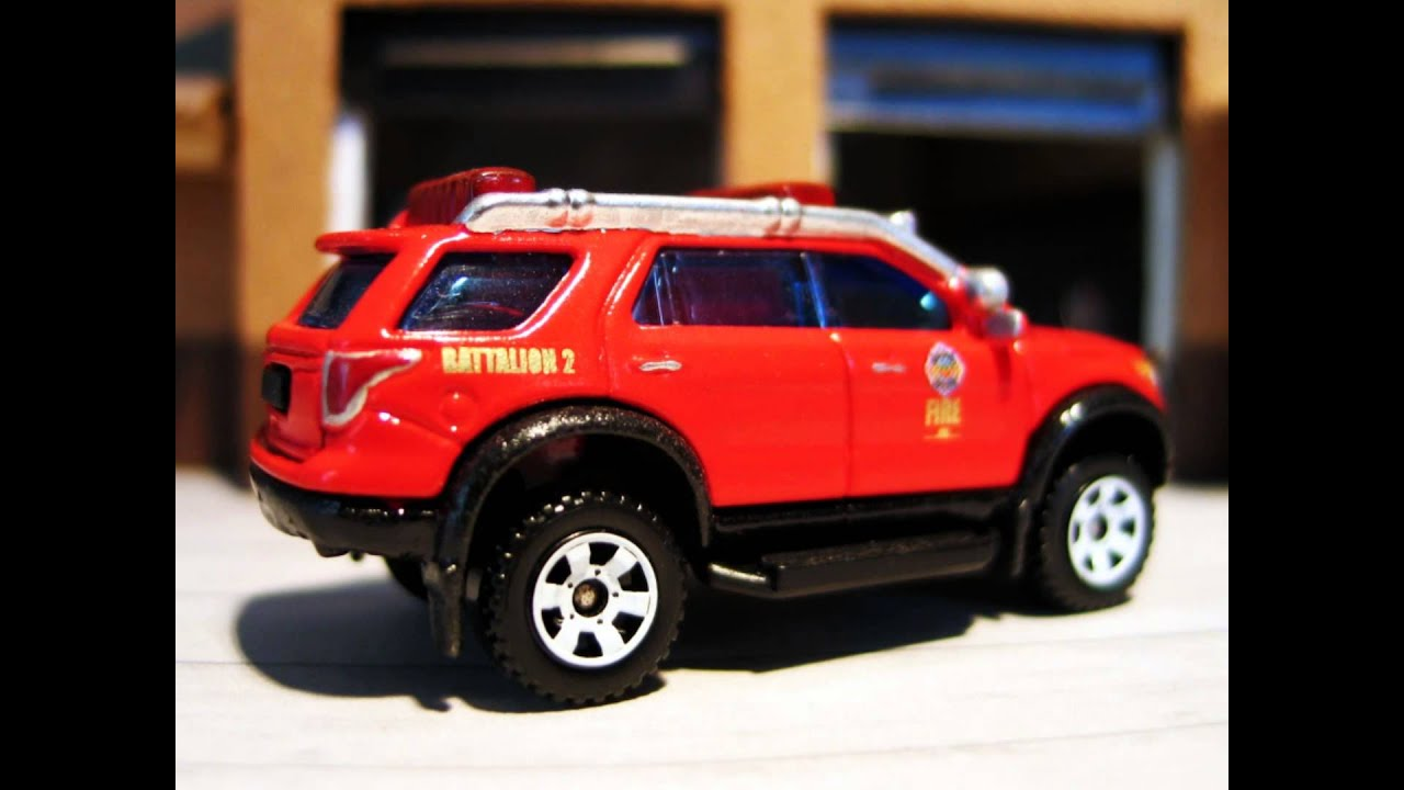 Matchbox Fire Custom Matchbox Ford Explorer Orange County