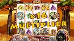 Video Slot Game - Savanna King Game Trailer