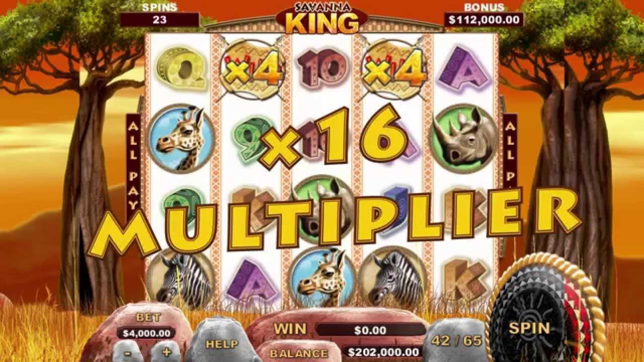 Savannah King Slot Machine