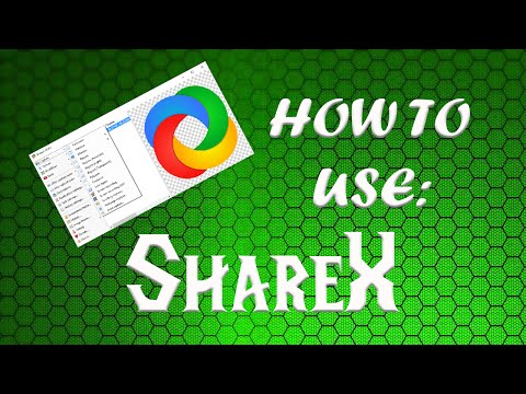JuniorDeBoss Shows How To Use ShareX