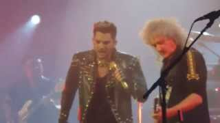 """ANOTHER ONE BITES THE DUST"" QUEEN & ADAMLAMBERT IN MONTREAL 7.14.2014"