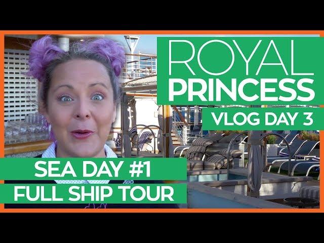 The Ultimate Guide to the Royal Princess | Royal Princess Cruise Vlog Day 03
