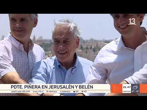 Gira Por Israel: Piñera Aseguró Que La Embajada De Chile Seguirá En Tel Aviv